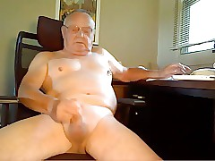 Grandpa Shoots His Saddle with