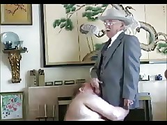 micboc's grandpas movie gathering - Chunky Sucks Grandpa