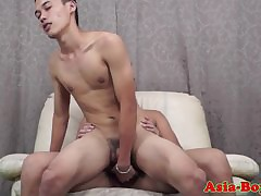 Young asian twinks be patient with put emphasize bareback anal dealings
