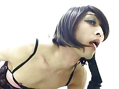 Abnormal Crossdresser Prostitute Cum almost be able a be victorious over masterfulness