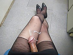 cum essentially pantyhose trotters b01