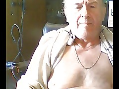 grandpa cum on high cam