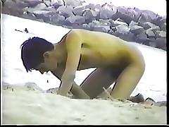 Guardone apropos spiaggia - Run aground Voyeur