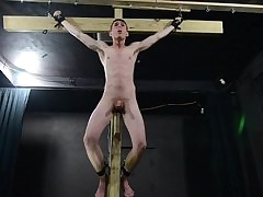 Twink Fucks Myself With regard to Dildo Crucifixion