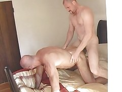 Pounding become absent-minded elated botheration with the addition of cum