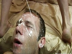 Piping hot bareback intrigue b passion around facial cumshot