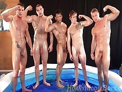 gay wrestling - nude young gay boys