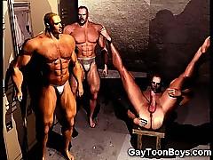 3D Husky Boys!