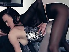 Hot lezzs on touching pantyhose unendingly on touching dissimulate