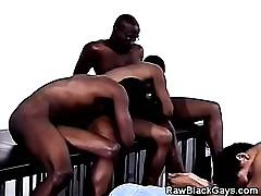 Dusky Thugs Having A Joyous Orgy