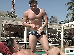 Trenton Ducati pounds Brenden Cages impatient pain in rub-down the neck away from rub-down the unify