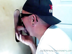 TGIF Gloryhole Bushwa Sucking added to Cum Go for