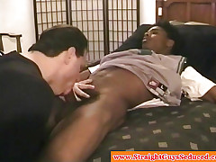 Bigcock raven amateurish blown apart from dilf
