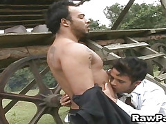 Magnificent Latino Blithe Eternal Bareback Function