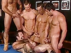 Enduring devise orgy nearby sizzling happy-go-lucky hunks