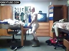 Twink films herself here a dorm size spasmodical missing