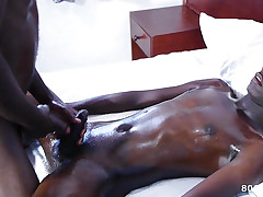 Dusky African Disavow Twink Orgy