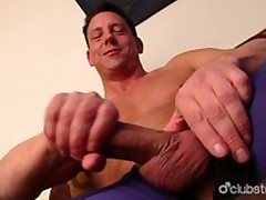 Hot Guileless Scrounger Ryan Masturbating